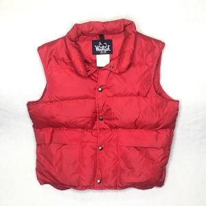 Vintage Woolrich Puffer Vest Made in USA Medium